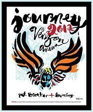 JOURNEY / PAT BENATAR / LOVERBOY 2012 SALT LAKE CITY CONCERT TOUR POSTER