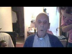 grandpa singing baby by justin beiber.  This is spectacular!!