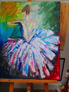 Dreaming of Dance by KnifeAndPalette on Etsy