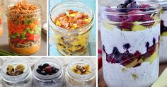 15 Quick and Healthy Mason Jar Recipes for Breakfast Lunch and Dinner