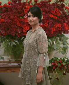 Sewing blouse diy neckline 39 Ideas for 2019 Kebaya Muslim, Kebaya Hijab, Kebaya Brokat, Dress Brokat, Kebaya Lace, Kebaya Dress, Batik Kebaya, Batik Dress, Model Kebaya Modern
