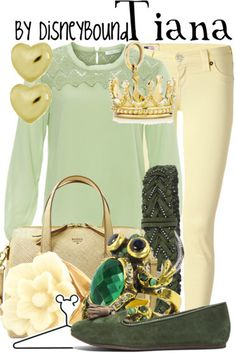 princess and the frog | Disney Bound