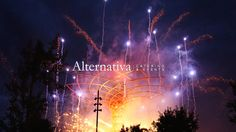 Special/Institutional Event @ ExpoMilano - ReOpening  May 1st, 2016  Tree Of Life Lighting With Fireworks
