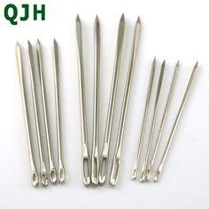 Soga aguja bambú aguja juego 20 cm de largo 7,50 mm de grosor