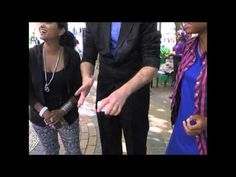 Johannesburg Corporate Magician. Sabc 3 DTV, amazing phone trick ! - YouTube