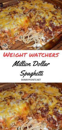 Million Dollar Spaghetti - #weightwatchers #weight_watchers #Healthy #Million #Dollar #skinny_food #Spaghetti #recipes #smartpoints