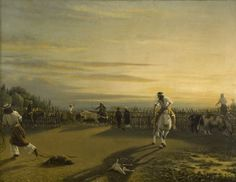 Prilidiano Pueyrredón (1823-1870)| Apartando en el corral | s.f.| Óleo sobre tela | 62 x 81 cm