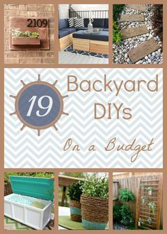 Spruce up your yard with these backyard DIY projects on a budget!