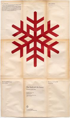 snow flake tracing for sewing project