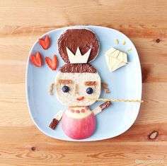 Samantha Lee's food art