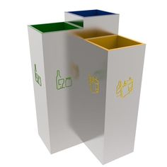 BERGEN Stylish design recycling litter bins station for public spaces 3x30L This stylish design recycling bin made from high quality stainless steel is the perfect choice for waste separation point in public spaces, offices, schools etc. Various design combination possible. #coolstuff #housestaff http://www.urbaniere.com/shop/bergen-stylish-design-recycling-litter-bins-station-for-public-spaces-3x30l/: