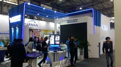iCastx team visits stall in NAB Shanghai