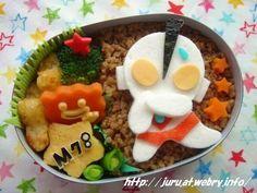 Ultraman bento 成田 - Everything About Japanese Cars 2020 Kawaii Bento, Cute Bento, Bento Recipes, Bento Ideas, Japanese Food, Japanese Cars, Bento Box Lunch, Food Decoration, Eating Habits
