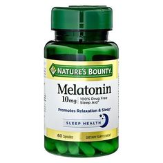 Nature's Bounty Maximum Strength Melatonin 10 mg Capsules - 60 ea