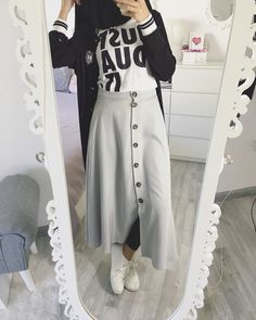 Sporty   Skirt / Rock / Etek  @cherielady_mode