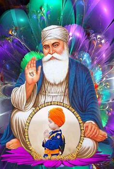 Guru Nanak Photo, Guru Nanak Ji, Nanak Dev Ji, Guru Nanak Wallpaper, Shri Guru Granth Sahib, Guru Pics, Good Night Greetings, Religious Quotes, Art Drawings
