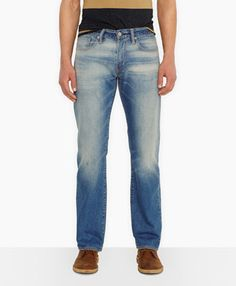 514™ Straight Jeans - Gold Pan - Levi's - levi.com