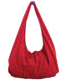 Ao Jamitsur traditional handwoven hobo bag