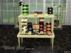 pamelaaustin: sims4download-bygazoul: Shoes Box !! For shop or deco :) Mesh by Koposov, you must visit him! He's very talented !! Colors/ texture by me ( 16 colors ) DOWNLOAD : • MEDIAFIRE •...