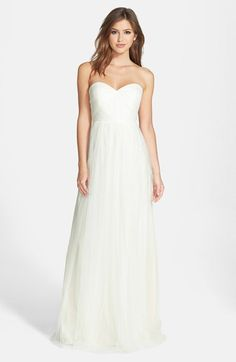 Jenny Yoo 'Annabelle' Convertible Tulle Column Dress (Regular & Plus Size) | Nordstrom -- I love the versatility of this one