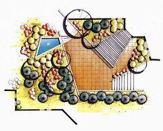 [Tổng hợp] Diễn họa cây cối và vật liệu | Diễn Họa Tay