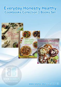Everyday Honestly Healthy Various Crafts & Decorative Arts Cookbooks. Buy now at http://ebay.eu/1KAd60w. #Diet‬ #Cookbooks‬ #DietBooks #books