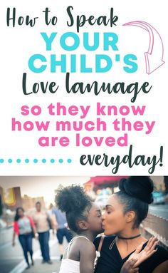 Love Languages for kids made simple. Show love to your kids in a personal way with these love language ideas!
