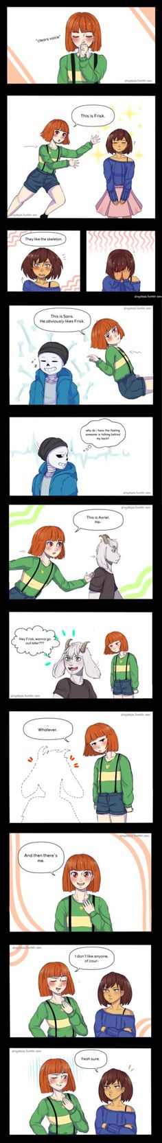 Chara talks about relationships by ShojotaleAU