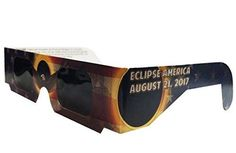 Premium card Solar Eclipse glasses. The Eclipse glasses are independently tested and are  ISO 12312-2 certified (filters for direct observation of the sun) . These eclipse viewing glasses are made exc...