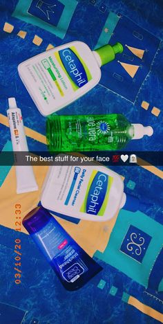 These Five Products Can Help Clear Acne and Moisturize Your Face Facial Cleanser, Moisturizer, Clear Blackheads, Aloe On Face, Clear Skin Tips, Cetaphil, Aloe Vera Gel, Skin Care Tips, Lotion