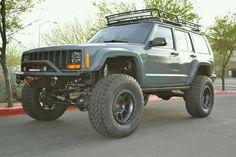 I will own a Jeep Cherokee XJ Old Jeep, Jeep 4x4, Jeep Truck, 2001 Jeep Cherokee, Jeep Cherokee Sport, Jeep Commander Lifted, Jeep Xj Mods, Badass Jeep, Offroader