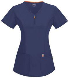 New medical coding shirts scrub tops 55 ideas Spa Uniform, Scrubs Uniform, Navy Scrubs, Polo Shirt Outfits, Medical Scrubs, Dental Scrubs, Nurse Scrubs, Glamour, Scrub Tops