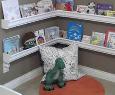Have you always wanted a book nook for your children? Here are several creative tutorials on how to make a kids book nook complete with pictured instructions. You'll learn how to turn a kids closet into a cool book nook as well as other do-it-yourself book nook tutorials.  DIY Kids Book Closets      1. How to Create a Book Nook {before and after} If you have a closet that isn't getting much us