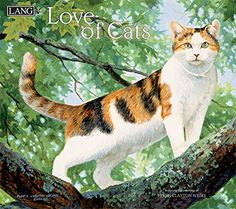 """Cat Calendar 2018 - """"Love Of Cats"""", Artwork by Persis Clayton Weirs - 12 Month - Open 13 X Cat Lover Gifts, Cat Gifts, Cat Lovers, Cat Calendar, Calendar 2018, Wall Calendars, Himalayan Cat, Cat Wall, All About Cats"""