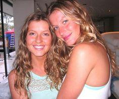 Gisele and Patricia Bundchen