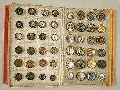 ButtonArtMuseum.com - Button book 1790 French