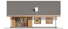 Projekt domu Murator C333j Miarodajny - wariant X 86,6 m2 - koszt budowy 117 tys. zł - EXTRADOM Outdoor Decor, Home Decor, Decoration Home, Room Decor, Home Interior Design, Home Decoration, Interior Design
