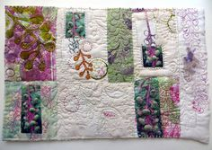 Poke Salad Annie Series:  Heritage ~ an art quilt