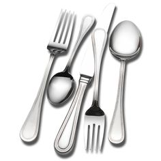 The perfect housewarming gift for a new couple, this elegant flatware set from Wallace Home will allow you to serve meals in style. It features a service for twelve, which makes it great for dinner parties, and it is dishwasher safe for fast cleanup.