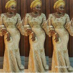 . @jumokeraji In @teekayfashion #asoebi #asoebispecial #speciallovers #makeup #wedding