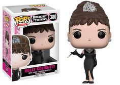 """Pop!: Breakfast at Tiffany's """"Did I tell you how divinely and utterly happy I am?"""" Introducing the Holly Golightly Pop! to celebrate the 55th anniversary of the classic film Breakfast at Tiffany's! Holly Golightly is clad in her iconic black gown and tiara! Coming this fall! Coming in November!  Pop!: iZombie Seattle PD's most helpful zombie is ready to join your collection! Olivia Moore is dressed in her Medical Examiner garb, available with her glasses and bone saw, or bowl of brains…"""
