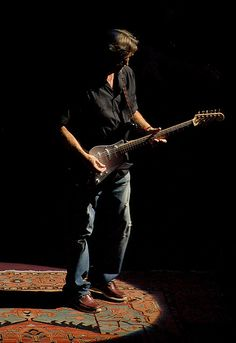 Eric Clapton (by Patrick Khachfe) #celebs #clapton