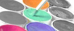 Farbwirkung - Farben und ihre Bedeutung: orange, rosa, pink, violett, türkis Shops, Orange, Pink, Colors, Yellow, Blue, Tents, Retail, Pink Hair