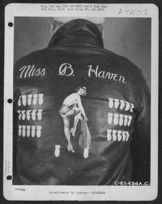 WWII bomber jacket.