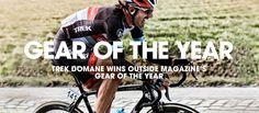 Trek Domane: the world's best bike for the world's best riders.