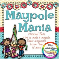 This includes plans to build a maypole, typed instructions on doing the… Movement Activities, Music Activities, Teaching Activities, Teaching Music, Teaching Ideas, Music And Movement, Dance With You, Elementary Music, Music Classroom