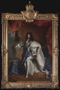 Louis XIV (1638-1715) | Louvre Museum | Paris   Hyacinthe RIGAUD (Perpignan, 1659 - Paris, 1743)  Louis XIV (1638-1715)  1701  H. 2.77 m; W. 1.94 m  Collection of Louis XIV