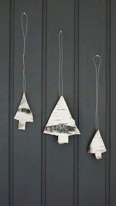 Christmas tree, wood | Xmas decoration . Weihnachtsdekoration . décoration noël | @ Noralill |