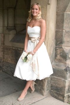 Country Western Wedding Dresses | short country style wedding ...