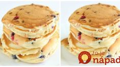 Sweet Recipes, Pancakes, Good Food, Food And Drink, Cooking, Breakfast, Ale, Mascarpone, Kitchen